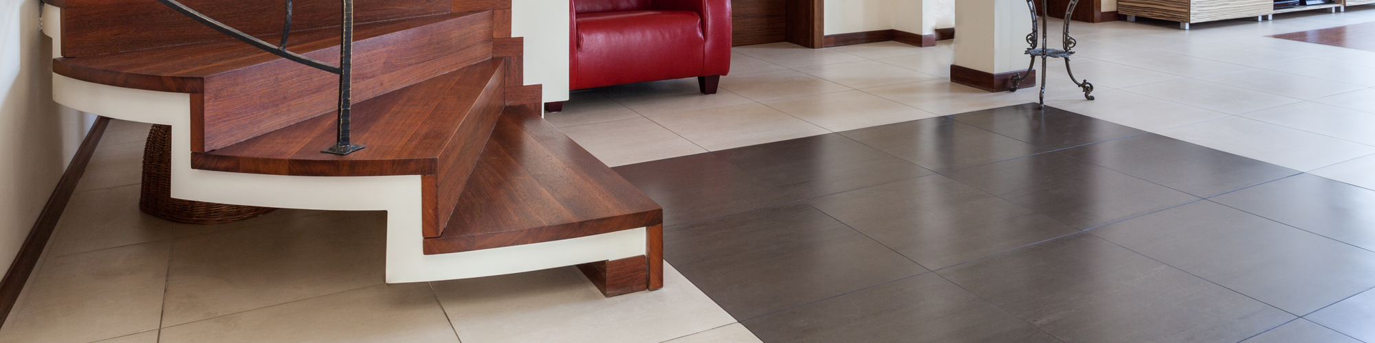 Tiles On Stairs | Flooring Services in Fort Worth, TX